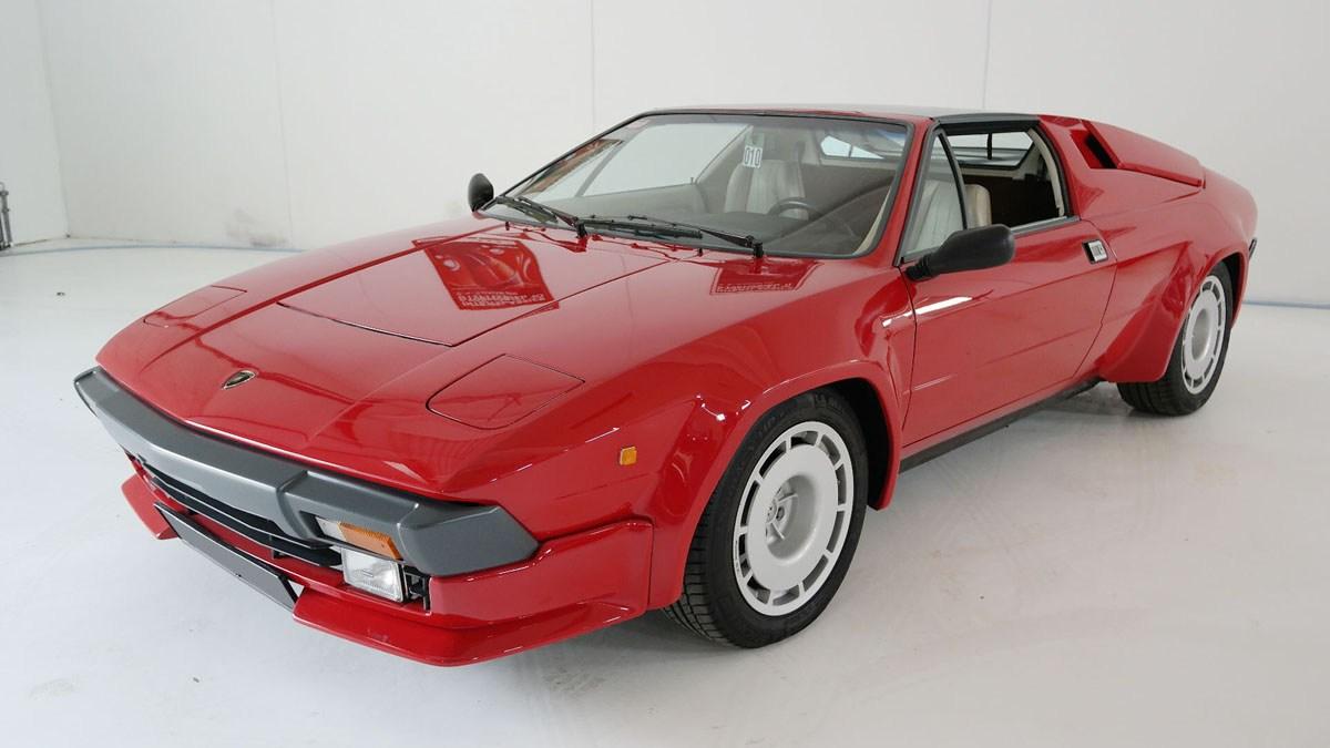 1984 Lamborghini Jalpa: 16 Feb 2019 For Sale by Auction (picture 1 of 3)
