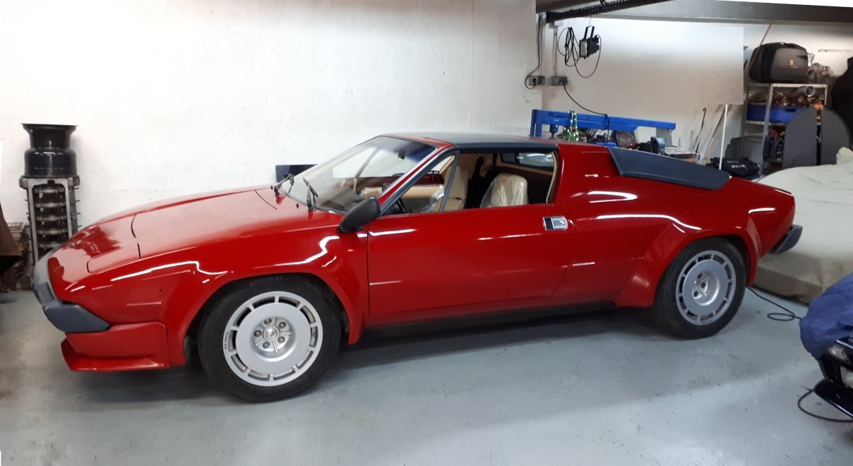 1983 exceptional Jalpa V8 3500 Euro-LHD For Sale (picture 1 of 6)