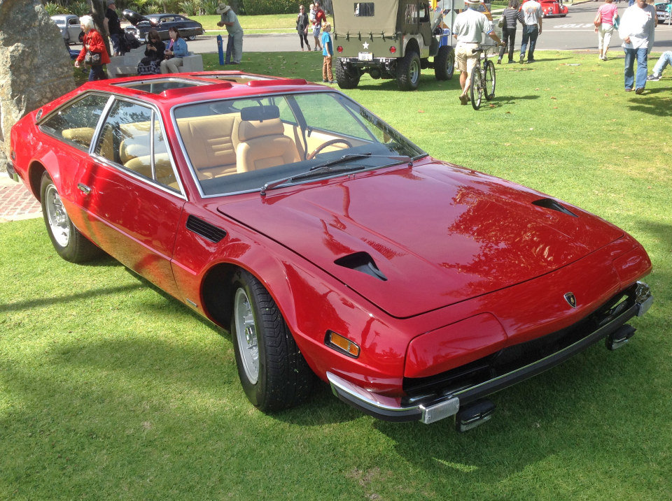 1972 Lamborghini Jarama = Rare Dual Sunroof 1 o 177 made For Sale (picture 3 of 6)