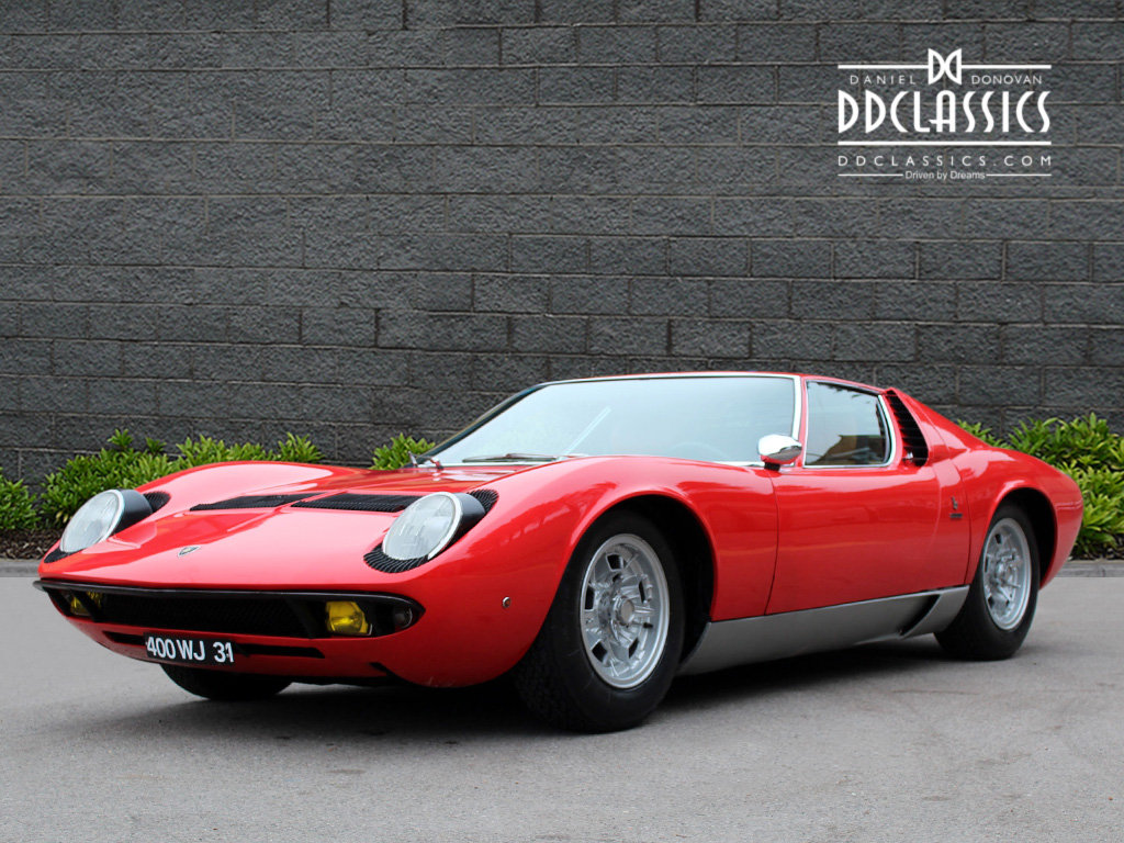 1969 Lamborghini Miura P400 S For Sale In London Lhd For Sale