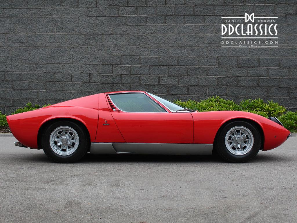 1969 Lamborghini Miura P400 S For Sale In London Lhd For Sale
