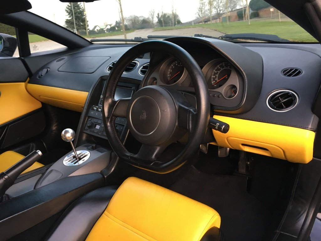 2003 Lovely Cond Lamborghini Gallardo Manual Rhd For Sale Car