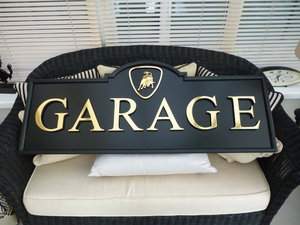 Lamborghini Garage Sign For Sale