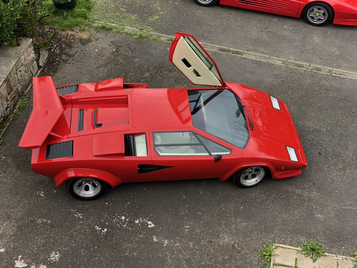 1987 Lamborghini Prova Countach For Sale Car And Classic