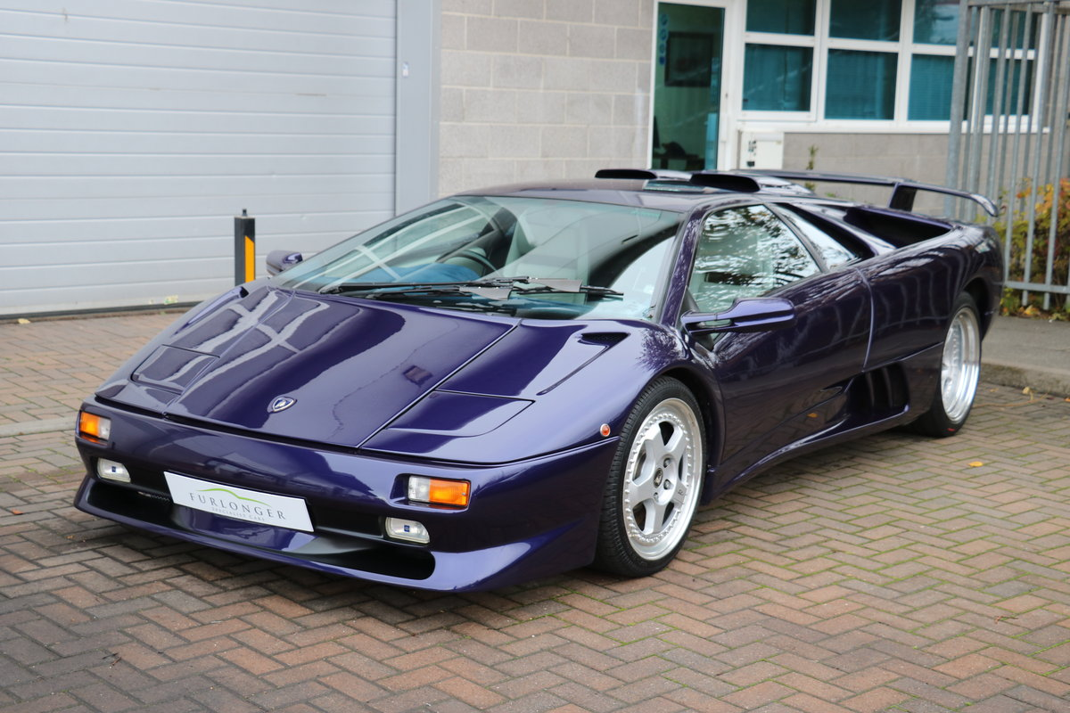 Lamborghini Diablo Sv Vvt Uk Rhd For Sale Car And Classic