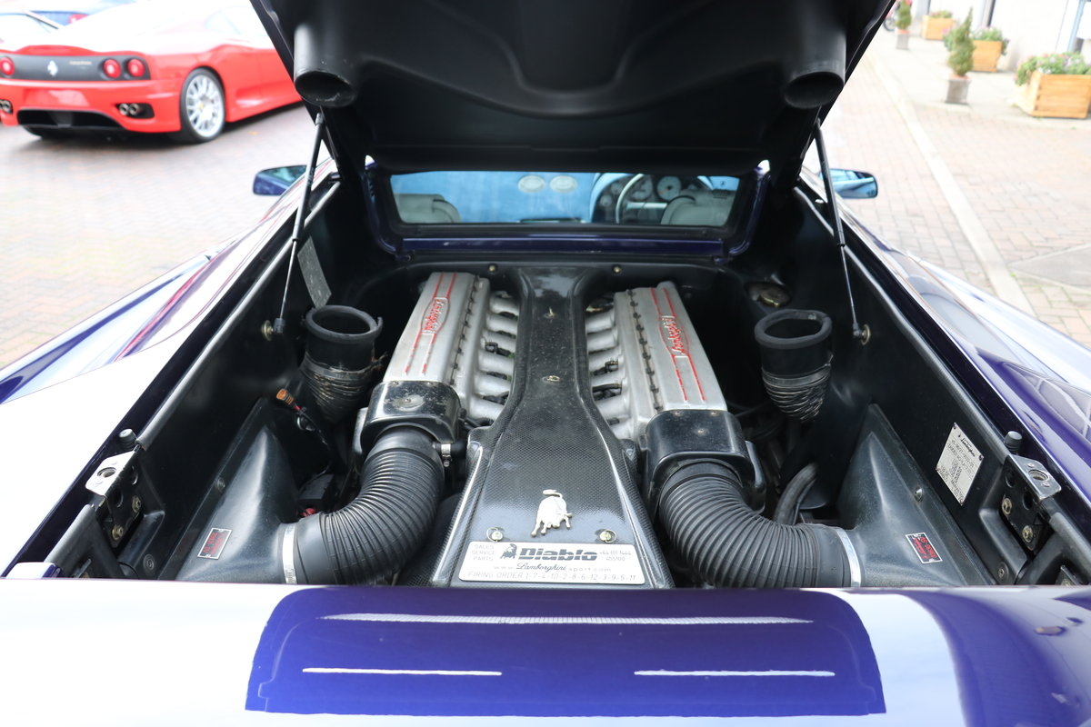 Lamborghini Diablo SV VVT - UK RHD For Sale (picture 6 of 6)