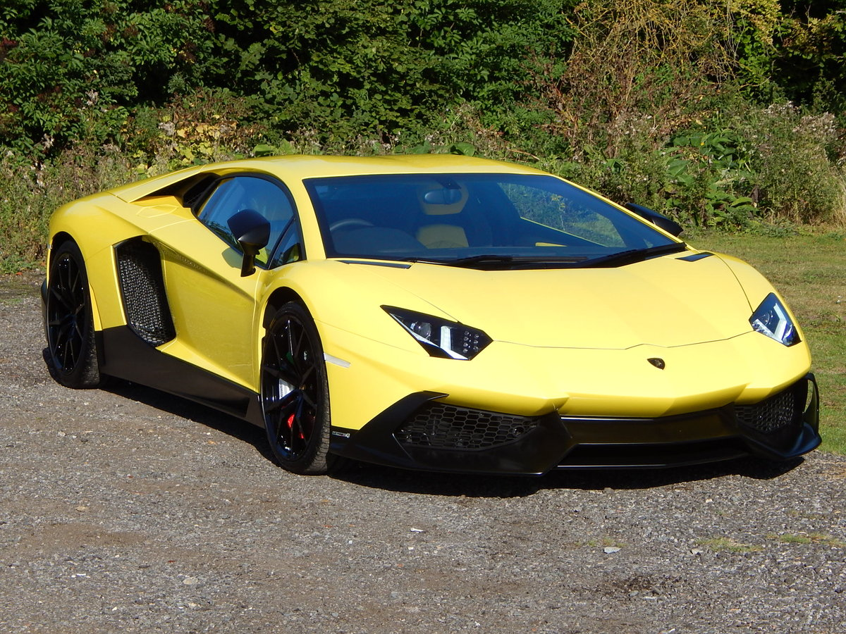 2014 Lamborghini Aventador LP720-4 50 Anniversario For Sale (picture 1 of 6)