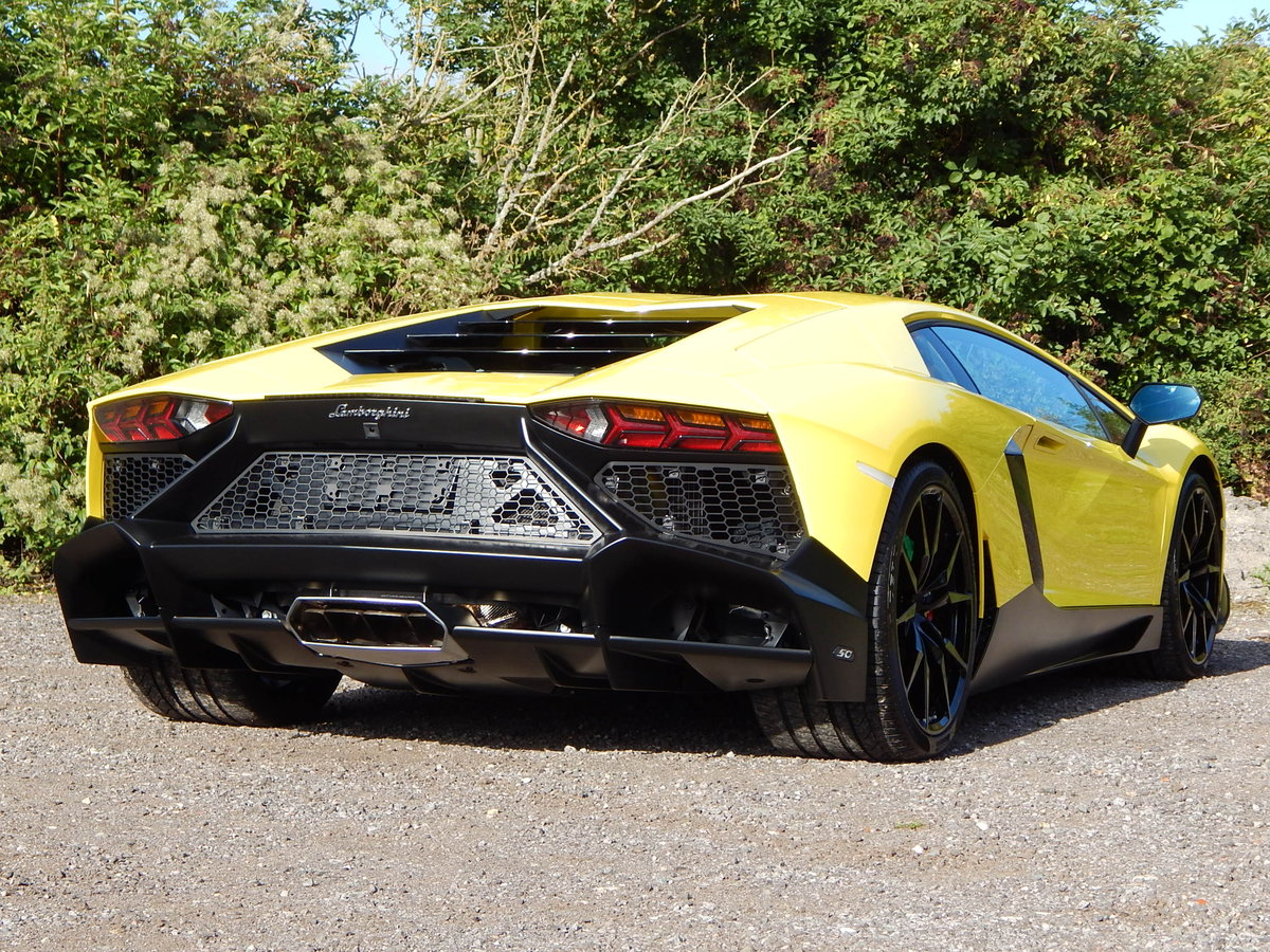 2014 Lamborghini Aventador LP720-4 50 Anniversario For Sale (picture 3 of 6)