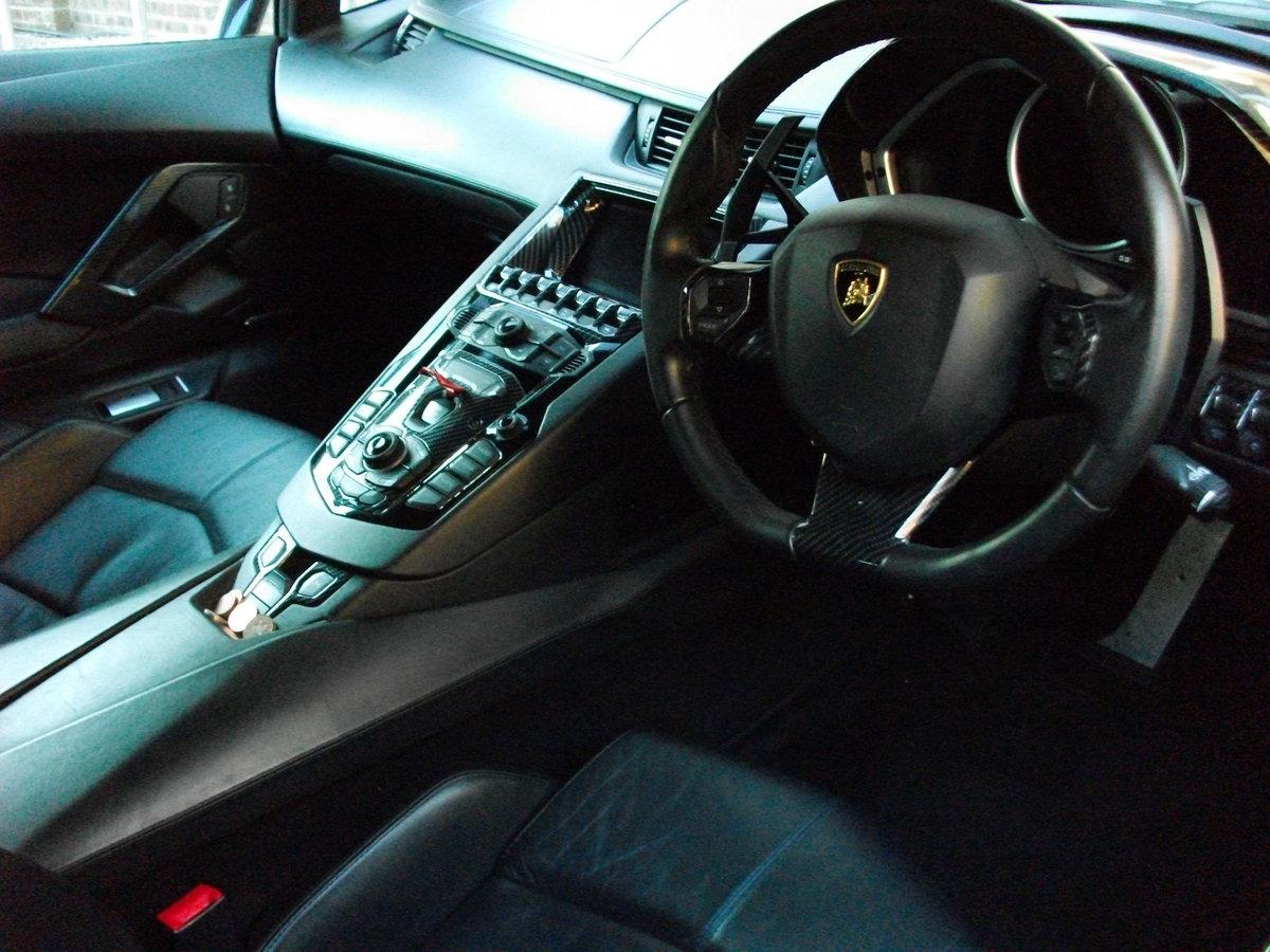 2012 Lamborghini Aventador LP700-4 in Black. SOLD (picture 4 of 6)