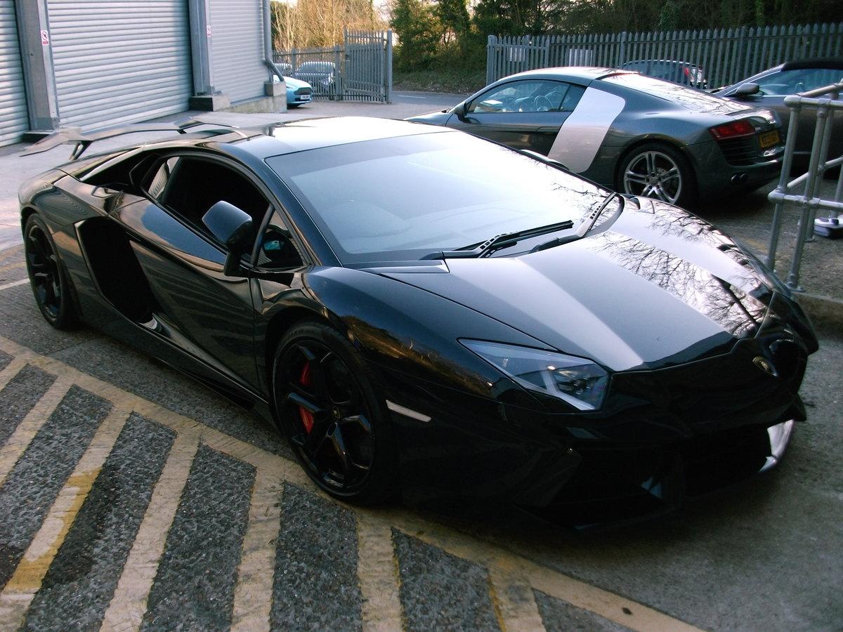 2012 Lamborghini Aventador LP700-4 in Black. SOLD (picture 5 of 6)