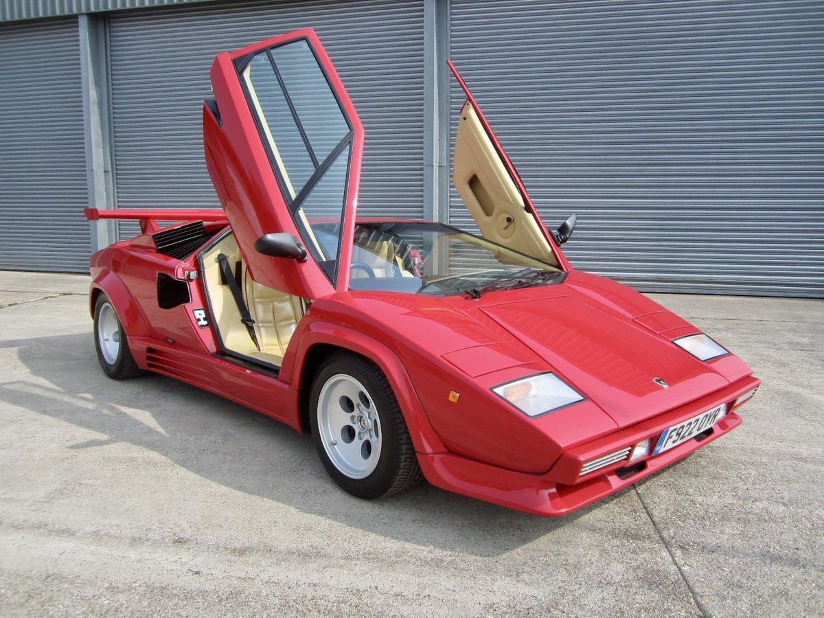 1988 5 Lamborghini Countach For Sale Car And Classic
