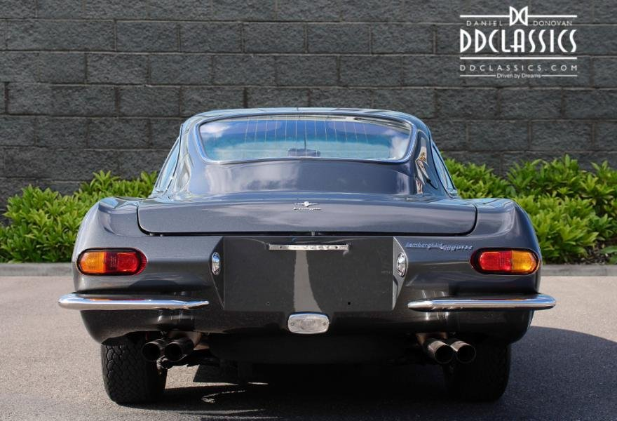 1967 Lamborghini 400GT 2+2 For Sale In London (LHD) For Sale (picture 4 of 12)