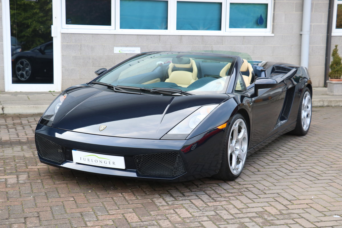 2005 Lamborghini Gallardo Spyder LHD - New Clutch Fitted For Sale (picture 1 of 6)