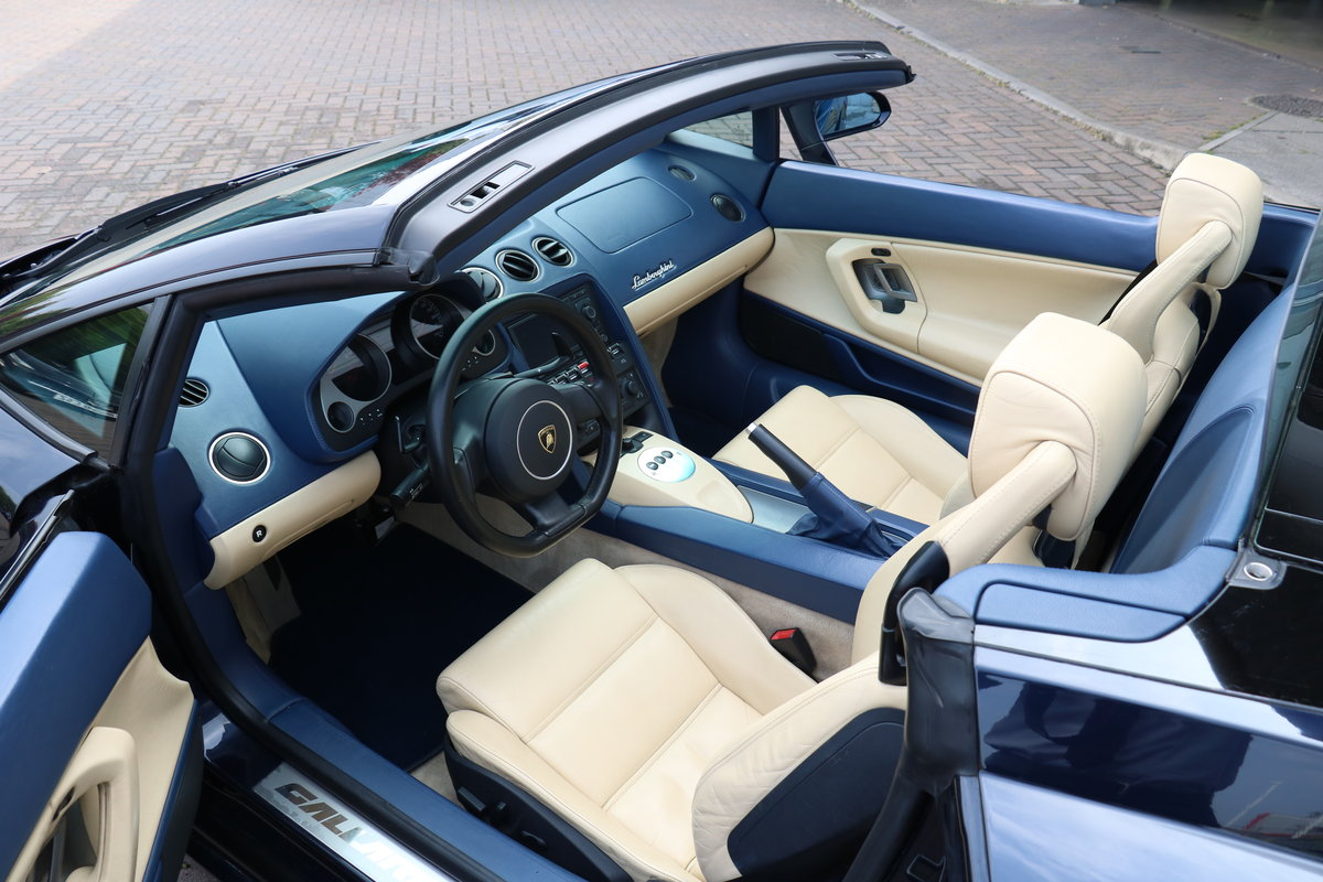 2005 Lamborghini Gallardo Spyder LHD - New Clutch Fitted For Sale (picture 4 of 6)