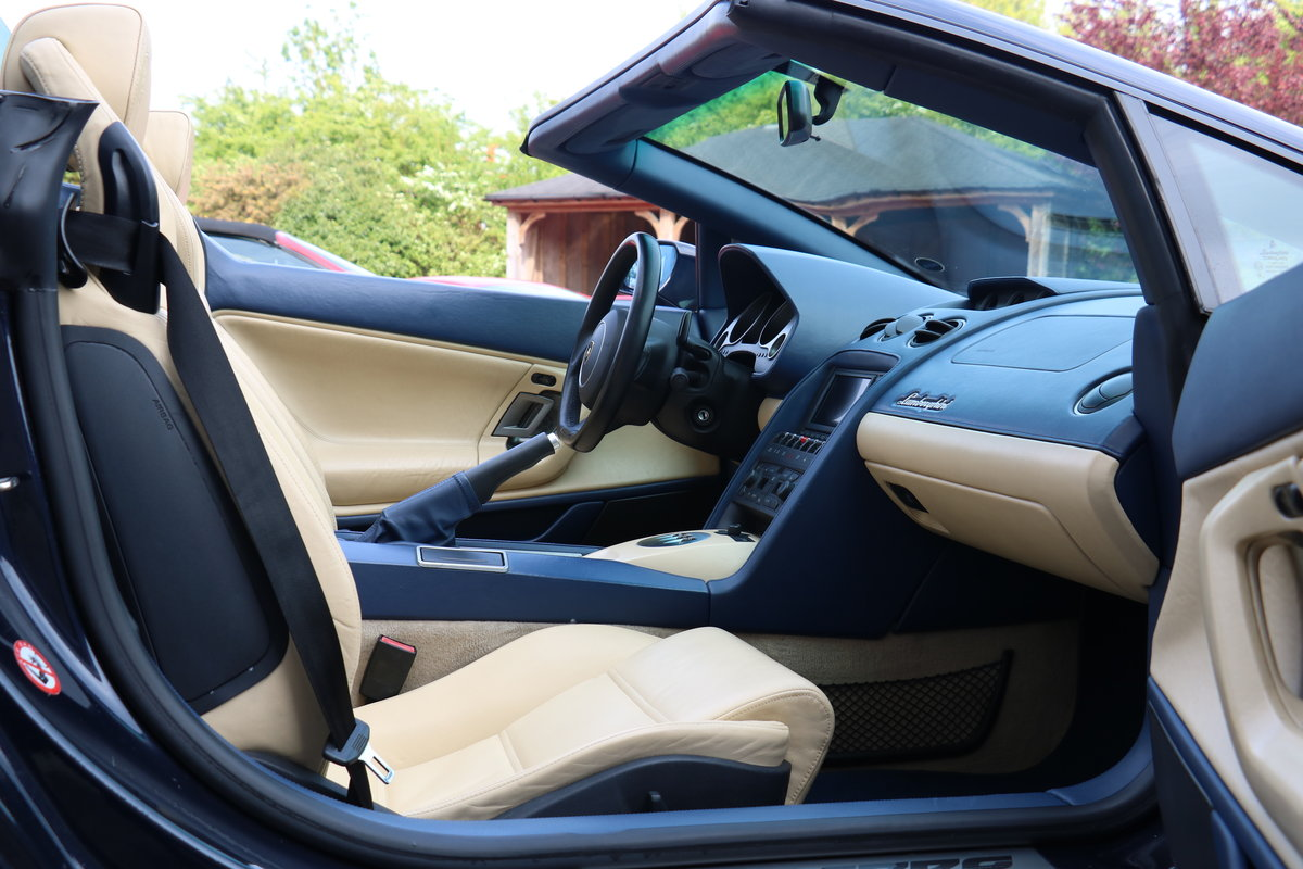 2005 Lamborghini Gallardo Spyder LHD - New Clutch Fitted For Sale (picture 5 of 6)