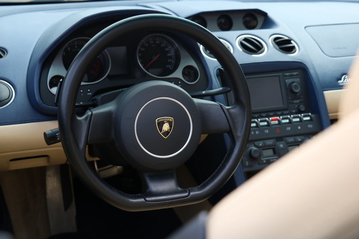 2005 Lamborghini Gallardo Spyder LHD - New Clutch Fitted For Sale (picture 6 of 6)