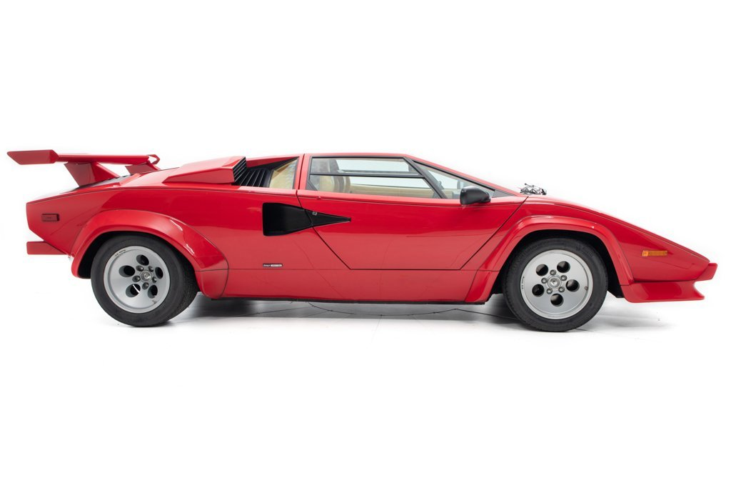 1984 Countach 5000S = was Mario Andretti + Rare 1 of  321 $499k For Sale (picture 2 of 6)