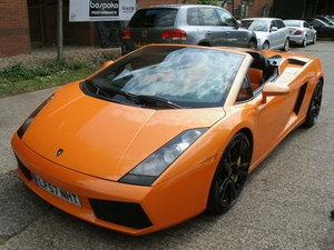 2008 Lamborghini Gallardo 5.0 V10 Spyder E-Gear For Sale