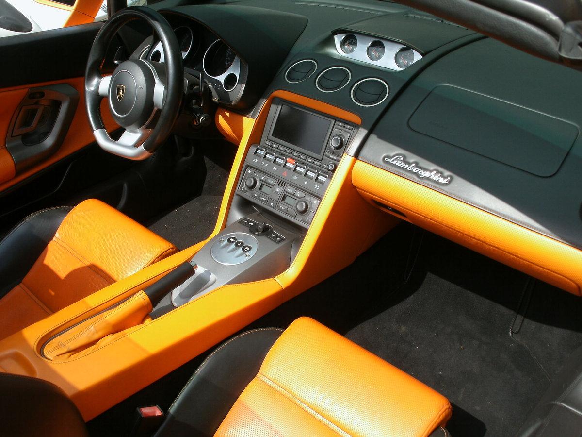 2008 Lamborghini Gallardo 5.0 V10 Spyder E-Gear For Sale (picture 5 of 6)