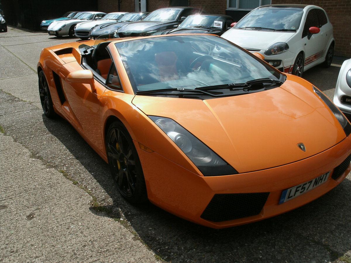 2008 Lamborghini Gallardo 5.0 V10 Spyder E-Gear For Sale (picture 6 of 6)