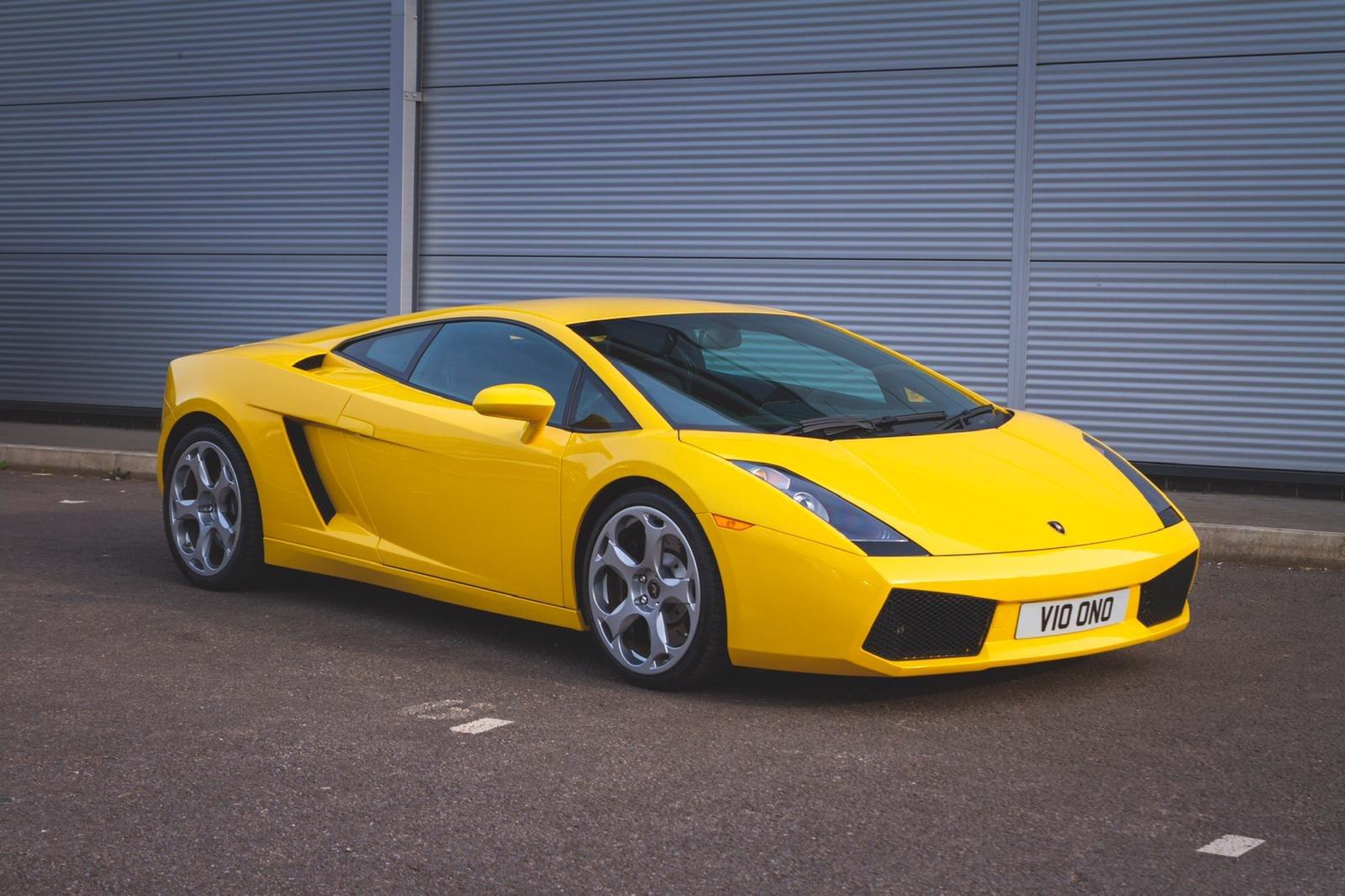 2004 Lamborghini Gallardo Pearl Yellow (E Gear) SOLD (picture 1 of 6)