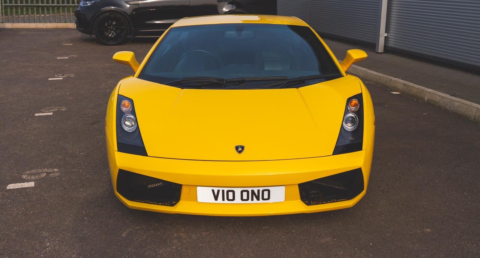 2004 Lamborghini Gallardo Pearl Yellow (E Gear) SOLD (picture 2 of 6)