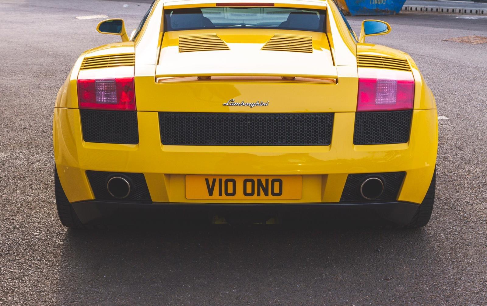 2004 Lamborghini Gallardo Pearl Yellow (E Gear) SOLD (picture 3 of 6)