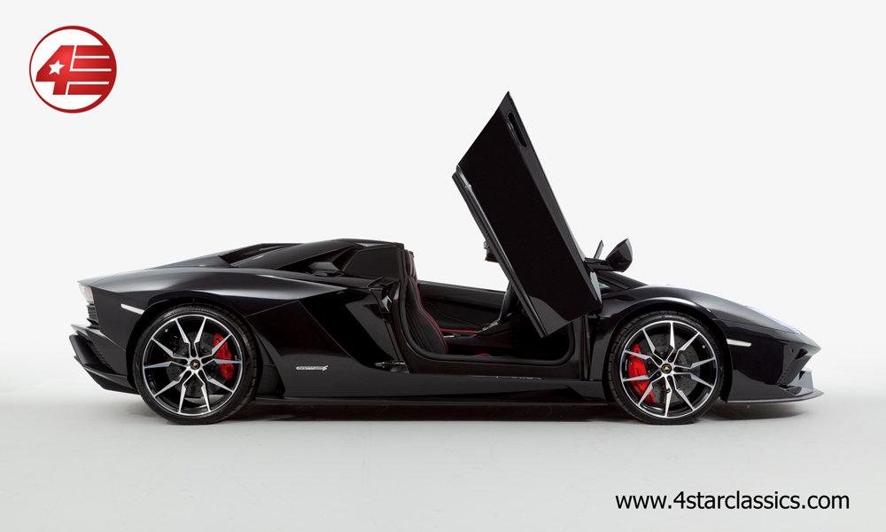 2018 Lamborghini Aventador S Roadster LP740-4 /// 1k Miles For Sale (picture 2 of 6)