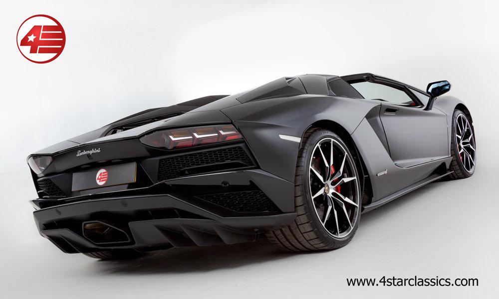 2018 Lamborghini Aventador S Roadster LP740-4 /// 1k Miles For Sale (picture 4 of 6)