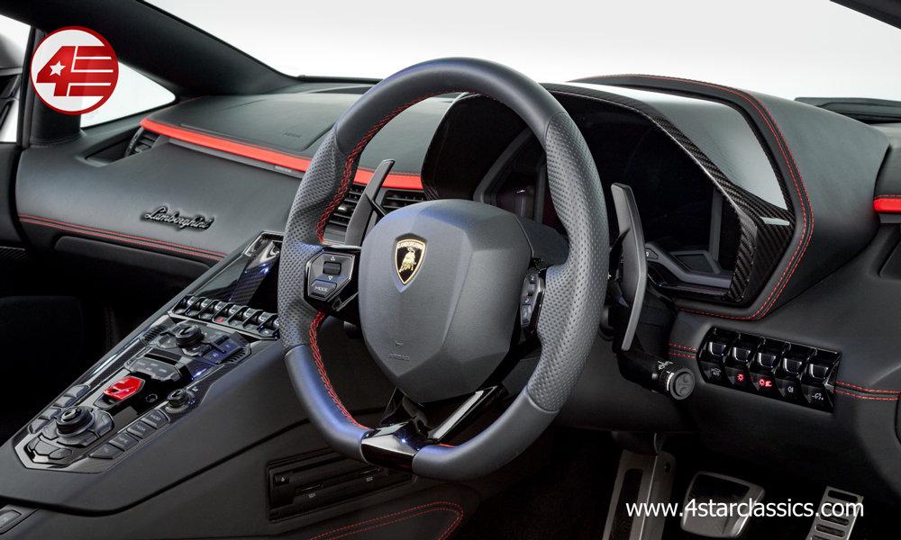 2018 Lamborghini Aventador S Roadster LP740-4 /// 1k Miles For Sale (picture 6 of 6)