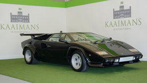 1983 Lamborghini Countach 5000s Right Hand Drive