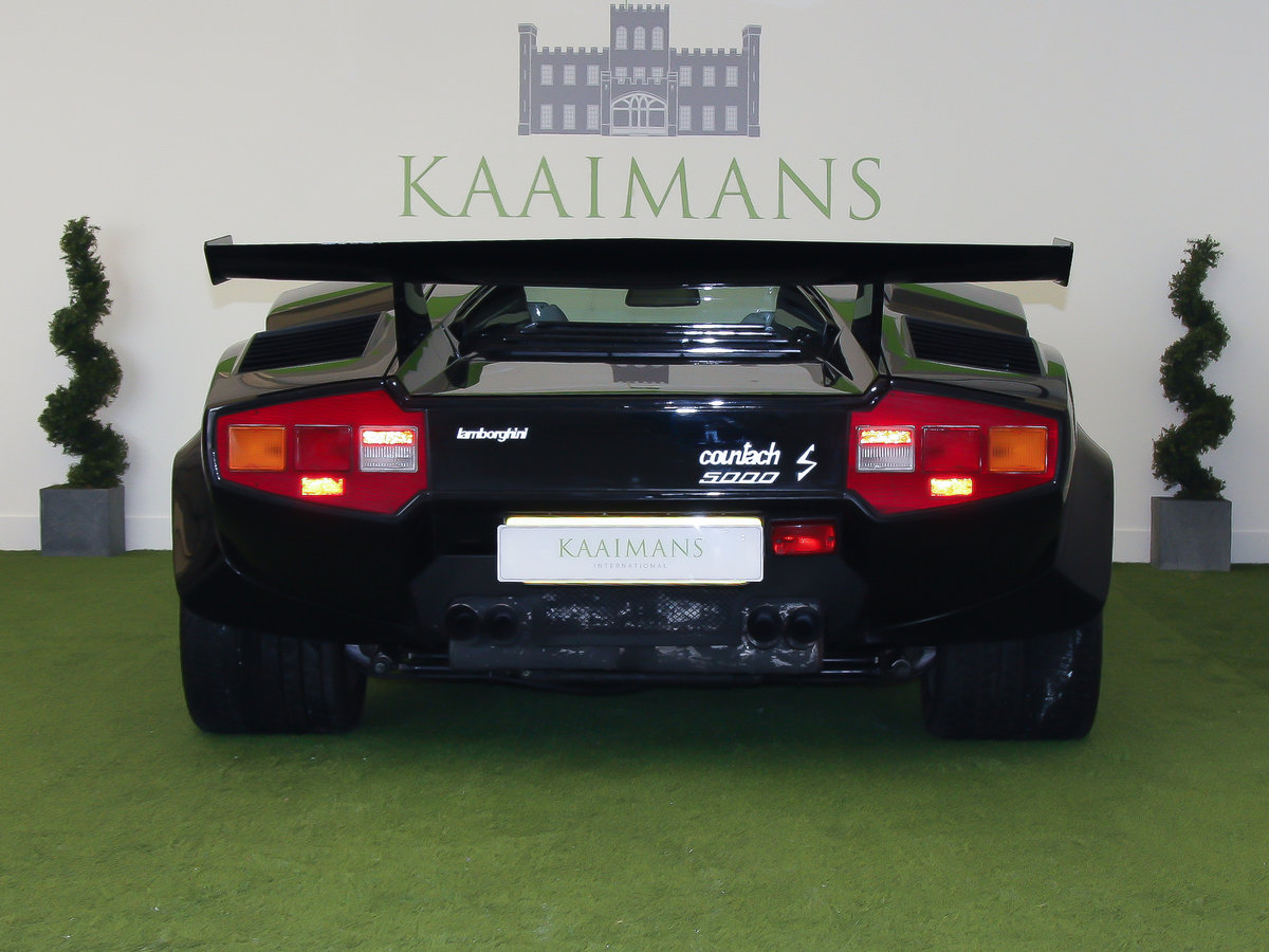 1983 Lamborghini Countach 5000s Right Hand Drive For Sale (picture 5 of 6)