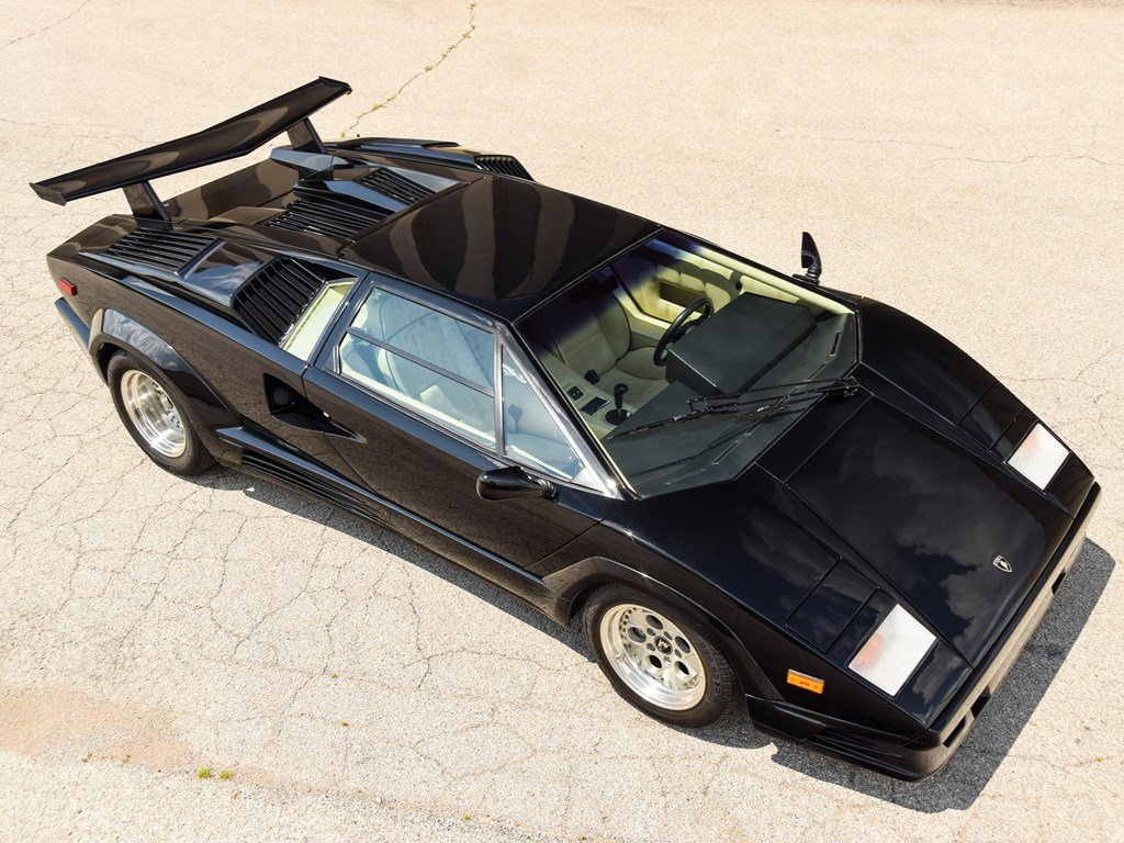 1989 Lamborghini Countach 25th Anniversary Edition  For Sale by Auction (picture 1 of 6)