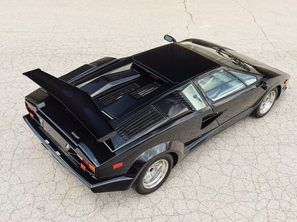 1989 Lamborghini Countach 25th Anniversary Edition  For Sale by Auction (picture 2 of 6)