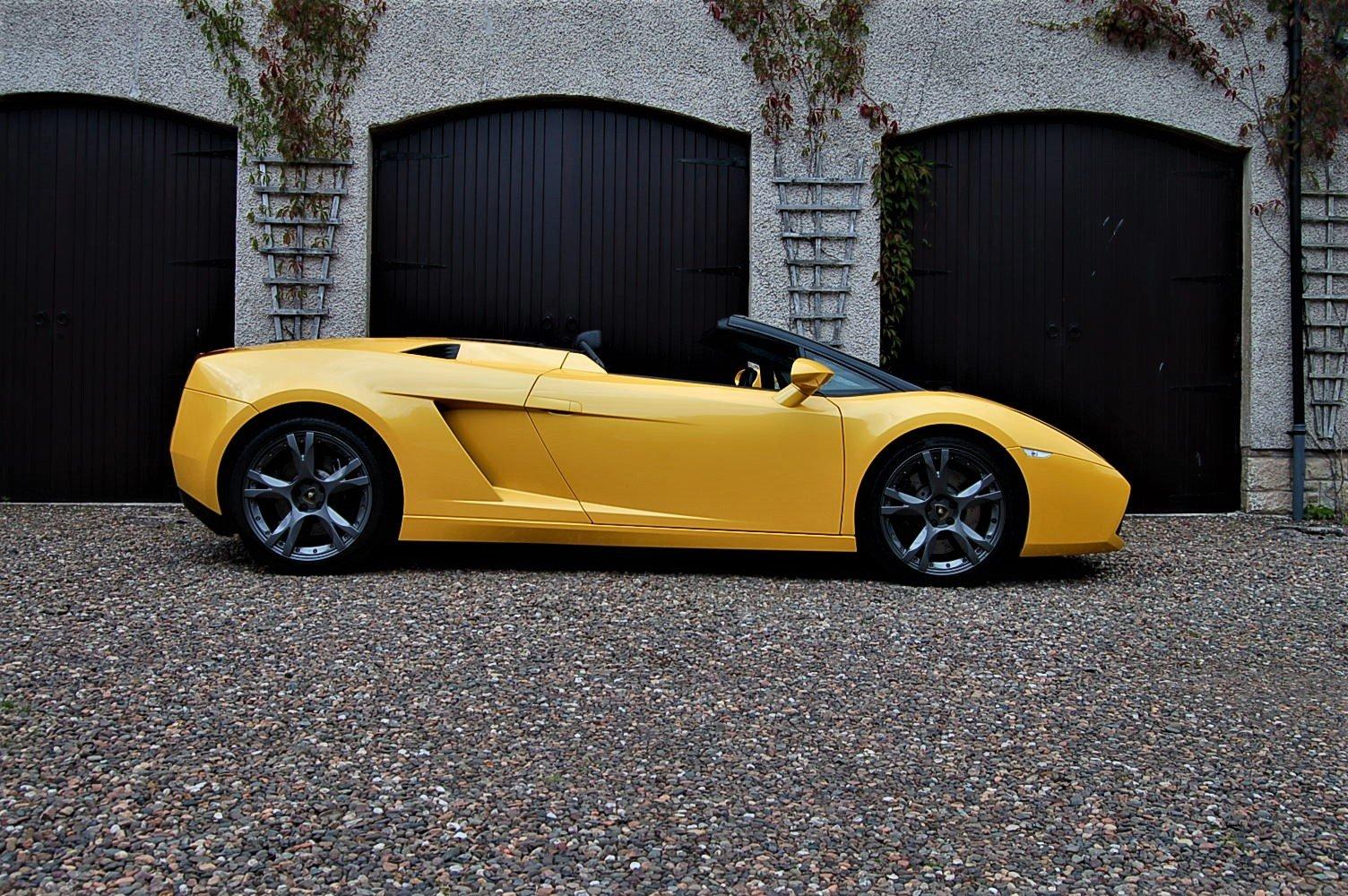 2006 Lamborghini Gallardo Spider Manual SOLD (picture 1 of 6)