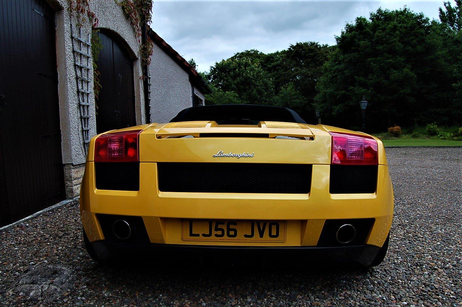 2006 Lamborghini Gallardo Spider Manual SOLD (picture 6 of 6)