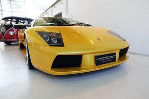2002 Lamborghini Murcielago, low kms, immaculate, fast