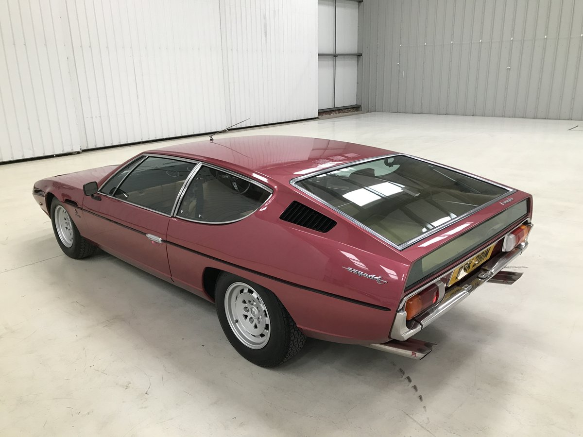 1973 Lamborghini Espada Factory RHD Manual For Sale (picture 2 of 6)