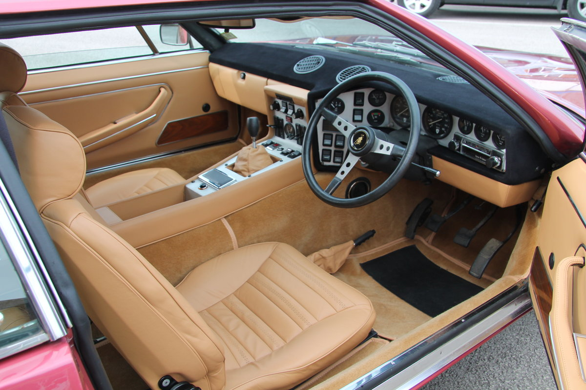1973 Lamborghini Espada Factory RHD Manual For Sale (picture 4 of 6)