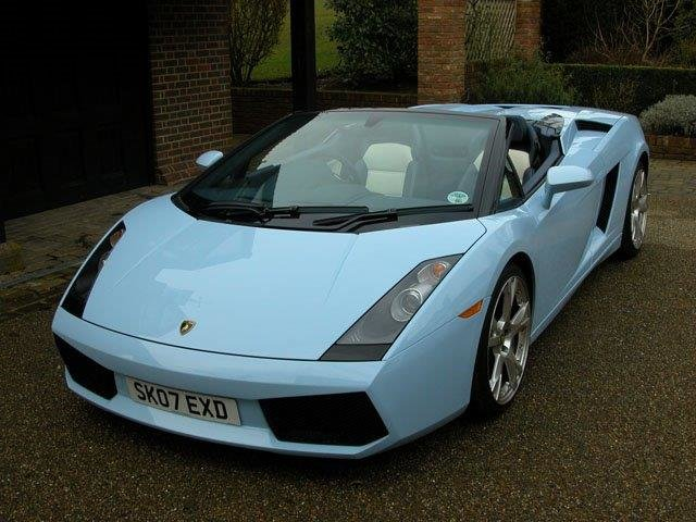 2007 ROD STEWART'S NEW GALLARDO SPYDER WITH 3200 MLS FOR SALE For Sale (picture 2 of 6)
