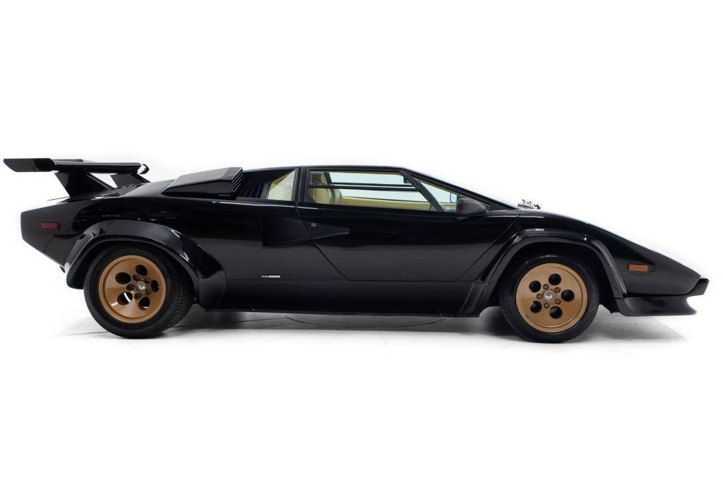 1984 Lamborghini Countach Coupe Euro-spe Black(~)Tan $349.5k For Sale (picture 2 of 6)