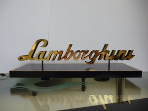 Lamborghini Desk Top Sign
