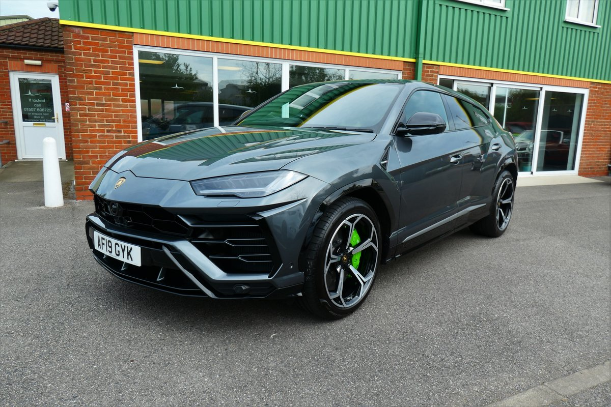 2019 Lamborghini Urus 19 Reg High Spec - Low Mileage SOLD (picture 1 of 6)