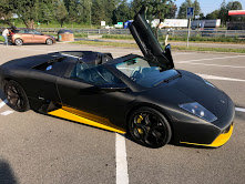 2006 Lamborghini Murcielago Roaster All Black Mint  $205k