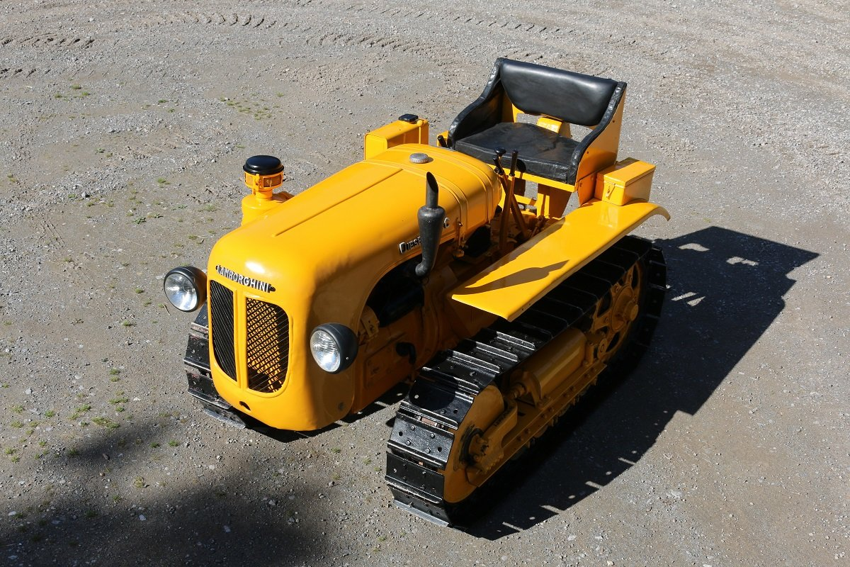 VERY RARE,1956 LAMBORGHINI DL25C CRAWLER (CINGOLATO) SOLD (picture 2 of 6)
