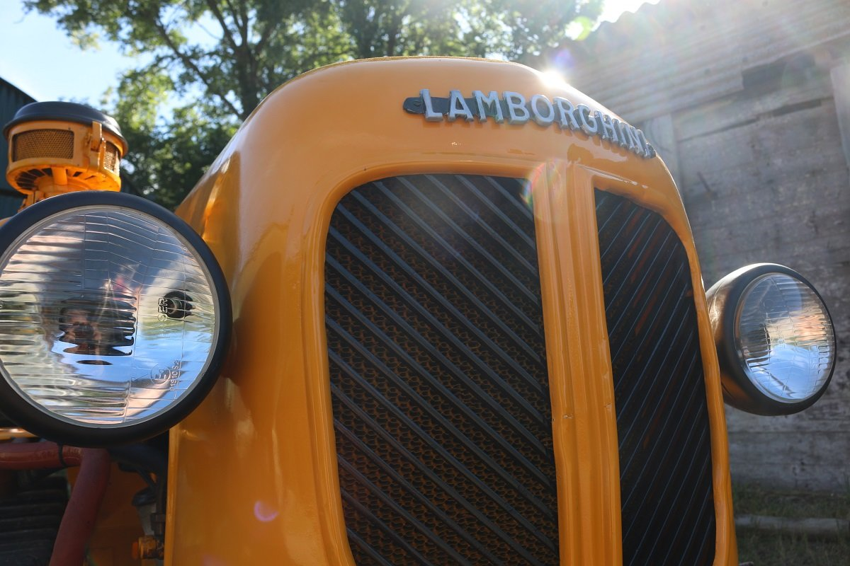 VERY RARE,1956 LAMBORGHINI DL25C CRAWLER (CINGOLATO) SOLD (picture 6 of 6)