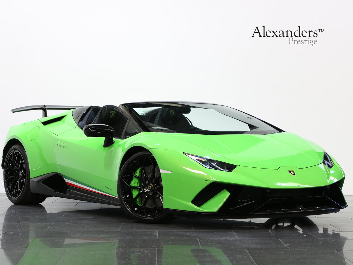 2019 19 19 LAMBORGHINI HURACAN SPYDER PERFORMANTE AUTO For Sale (picture 1 of 6)