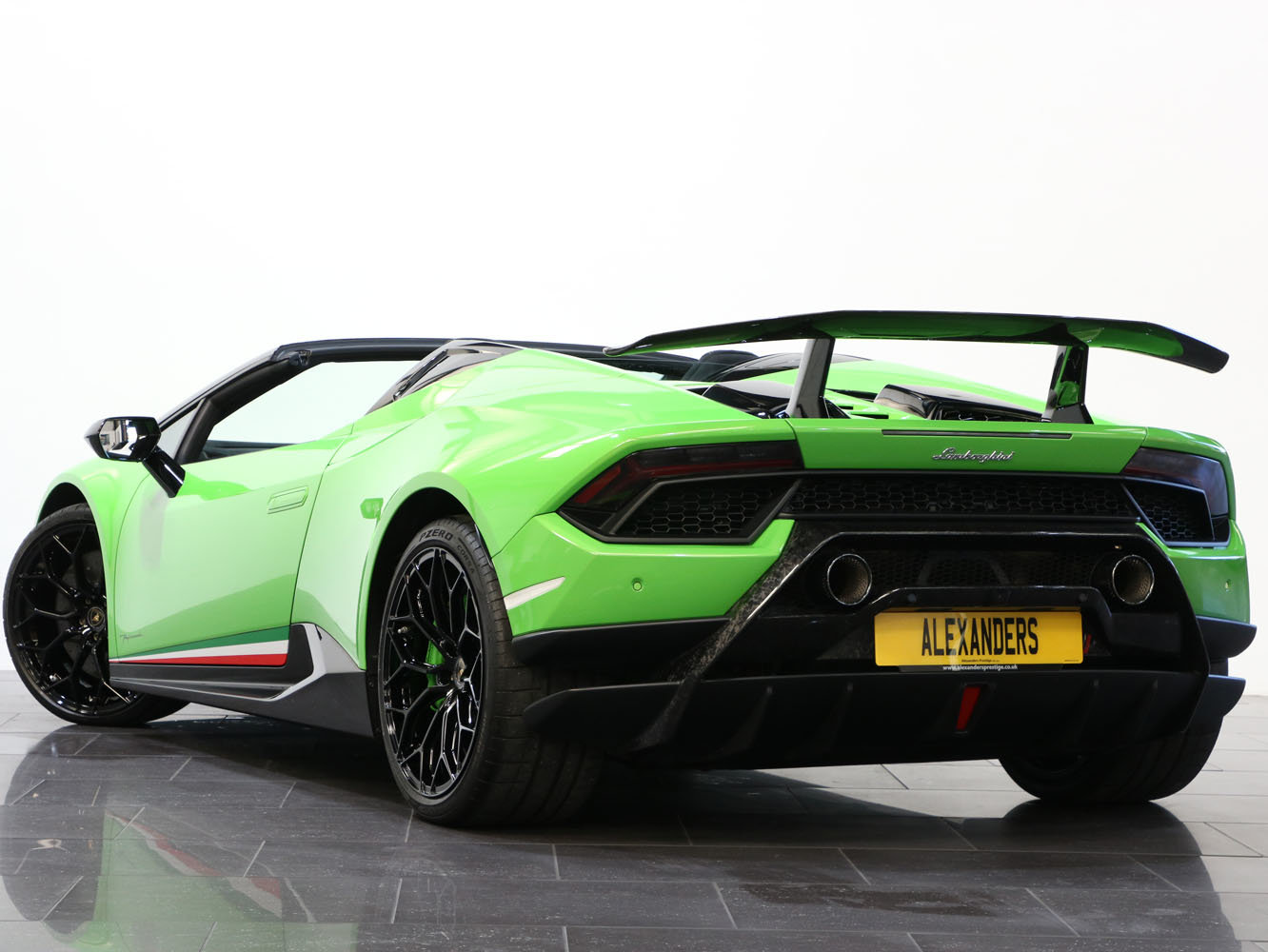 2019 19 19 LAMBORGHINI HURACAN SPYDER PERFORMANTE AUTO For Sale (picture 3 of 6)