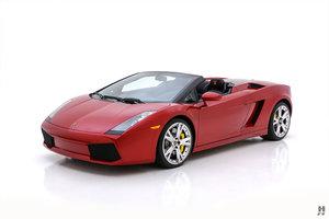 2007 Lamborghini Gallardo Spyder For Sale