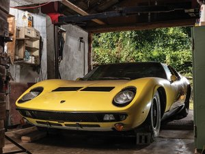1969 Lamborghini Miura P400 S by Bertone For Sale by Auction